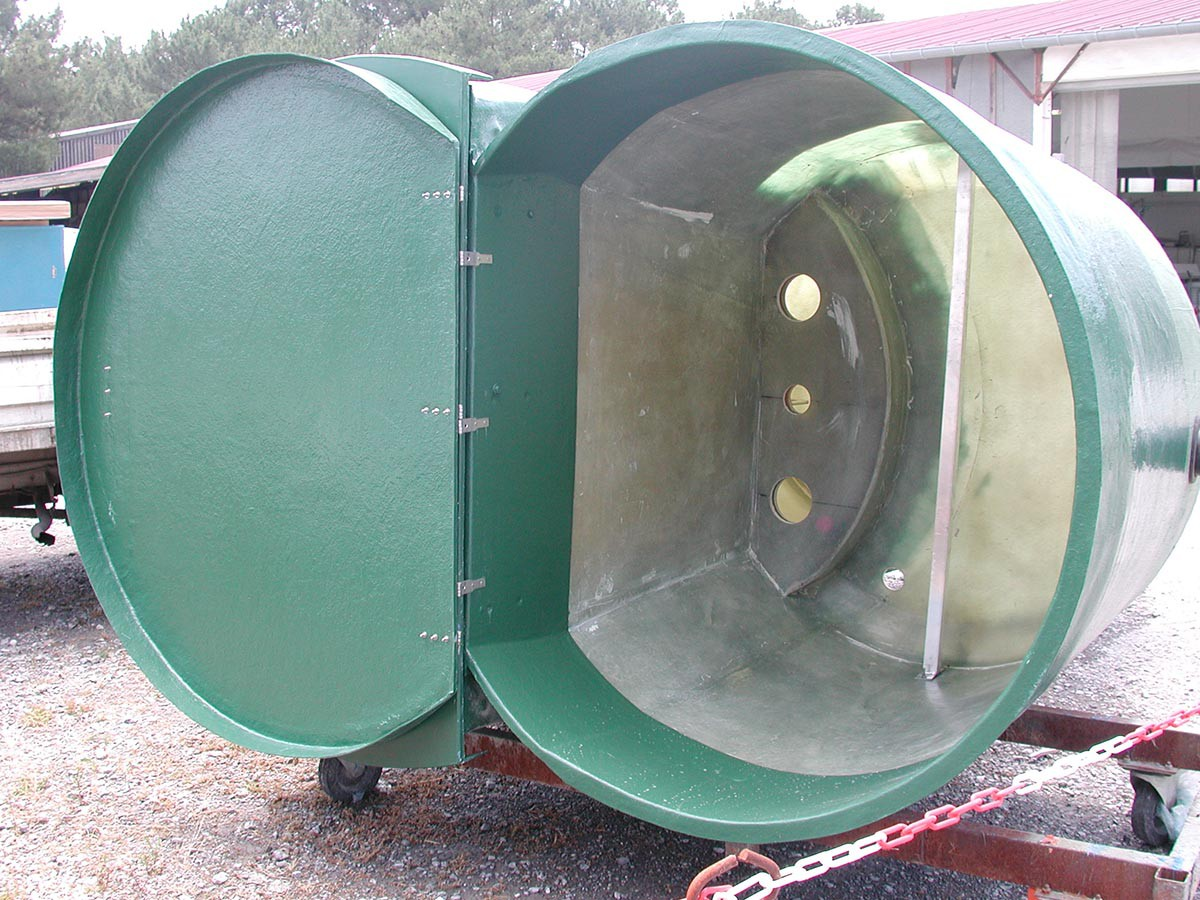 Lift station tank