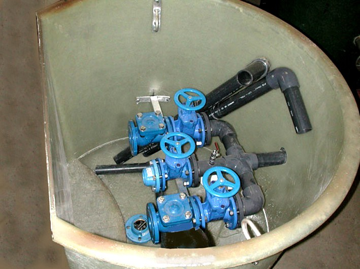 Valve room equipment